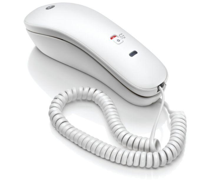 Ενσύρματο Τηλέφωνο Γόνδολα Motorola CT50W GR (Λευκό)