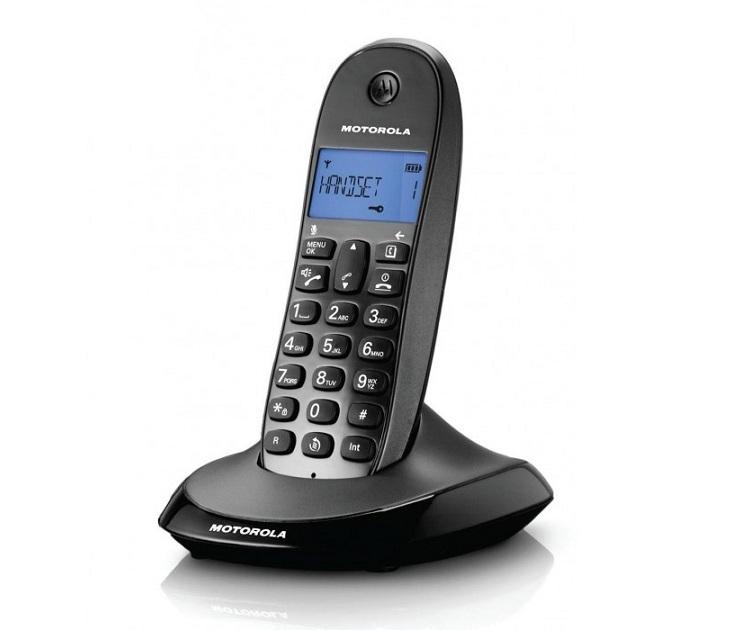 Ασύρματο Τηλέφωνο Dect Motorola C1001LB τηλεφωνία