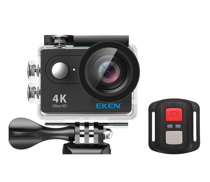 Action Cam H9R, Ultra HD 4K,12MP,Wifi,Remote,Waterproof Eken