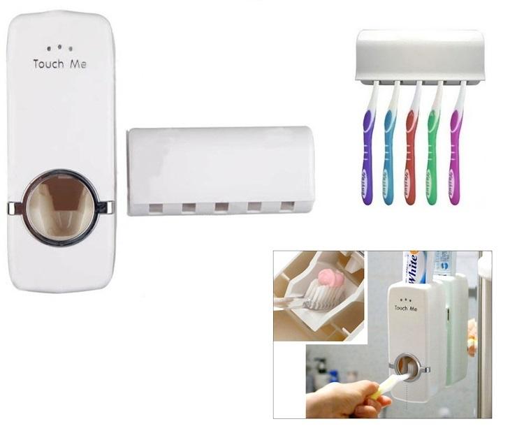 Συσκευή Οδοντόκρεμας & Θήκη για 5 Οδοντόβουρτσες OEM είδη σπιτιού