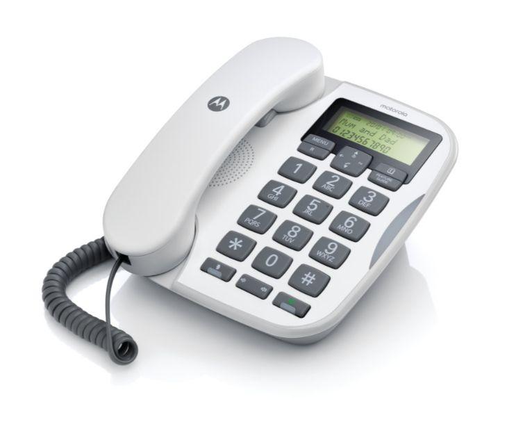 Ενσύρματο τηλέφωνο με μεγάλα πλήκτρα CT510 GR