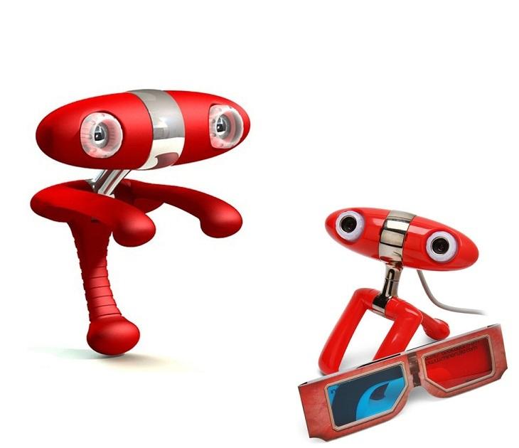 Τρισδιάστατη Κάμερα - 3D Webcam Minoru gadgets