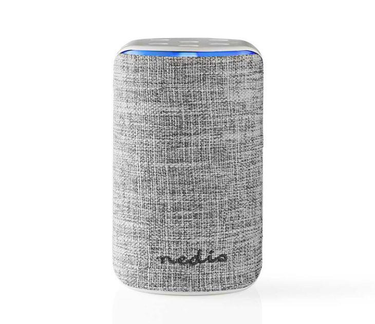 Smart Wi-Fi Ηχείο 15W, Συμβατό με Amazon Alexa, σε Λευκό/Γκρι