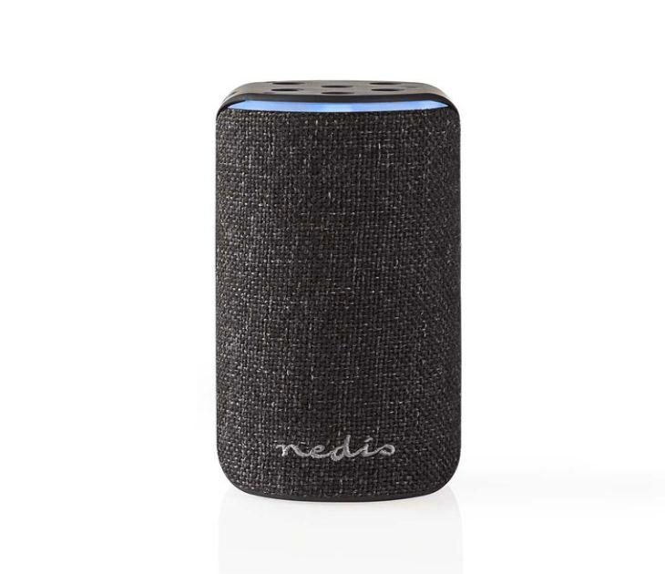 Smart Wi-Fi Ηχείο 15W, Συμβατό με Amazon Alexa, σε Μαύρο Χρώμα