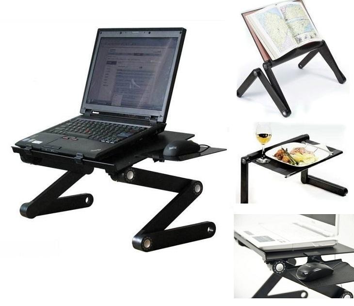 Πτυσσόμενο Τραπεζι Laptop Cooler Βάση Mouse 2 Ανεμιστήρες Τ8 ΟΕΜ βάσεις laptop   tablet