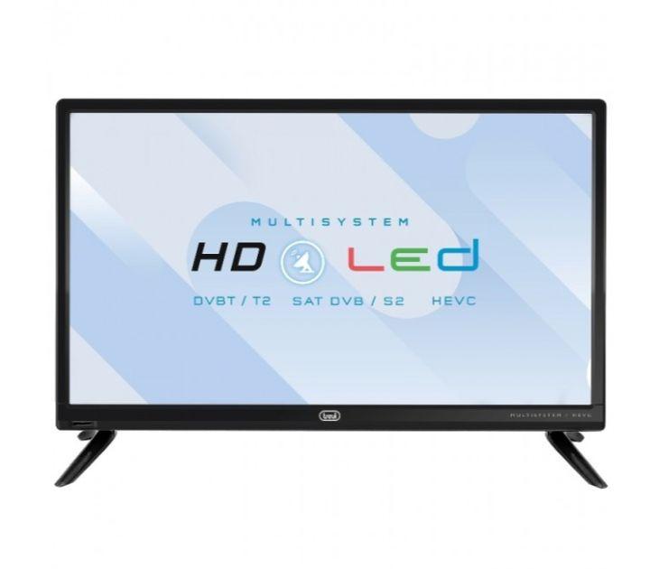"""Τηλεόραση LED 19"""" HD με Τροφοδοτικό 12V LTV-1904 SAT Trevi"""