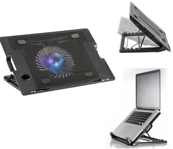 Βάση Εργασίας με 2 Θύρες USB & Σύστημα Ψύξης για Laptop OEM N182 gadgets