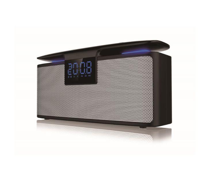 Φορητό Ηχείο Bluetooth, Διπλό Ξυπνητήρι, micro SD, Ραδιόφωνο και USB– 12W Akai ABTS-M10