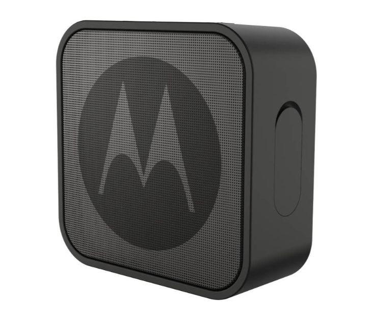 Αδιάβροχο Smart Φορητό Ηχείο Bluetooth με Aux-In – 3 W Motorola SONIC BOOST 220 Black