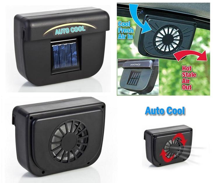 Ηλιακός Ανεμιστήρας - AutoCool για Αυτοκίνητα OEM gadgets