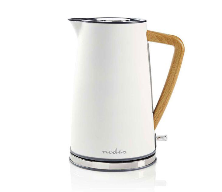Βραστήρας 1.7L, Άσπρο Soft-Touch Χρώμα 2200W Nedis KAWK510EWT