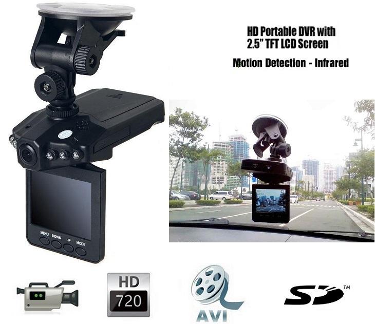 Kάμερα Αυτοκινήτου HD 2,5