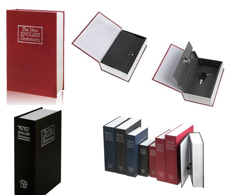 Βιβλίο Χρηματοκιβώτιο Ασφαλείας με Πολυτελές Δέσιμο OEM gadgets
