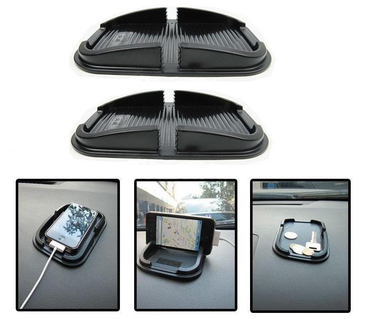 Σετ 2 Αντιολισθητικές Βάσεις Αυτοκινήτου για Κινητά/GPS gadgets