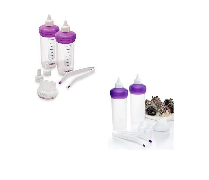 Σετ Διακόσμησης Ζαχαροπλαστικής Σιλικόνη Melt & Decorate Pro Kit