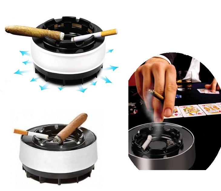 Έξυπνο Τασάκι που Ρουφάει τον Καπνό - Smoke Free Ashtray OEM είδη σπιτιού