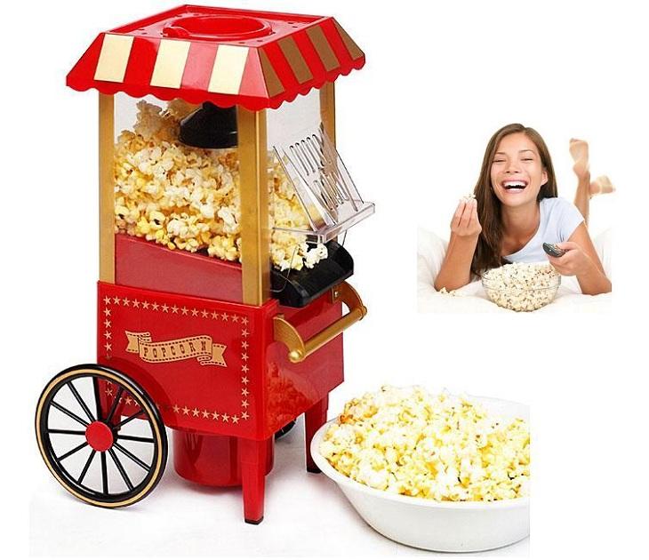 Ρετρό Φορητή Συσκευή για Υγιεινό Pop Corn μηχανές pop corn