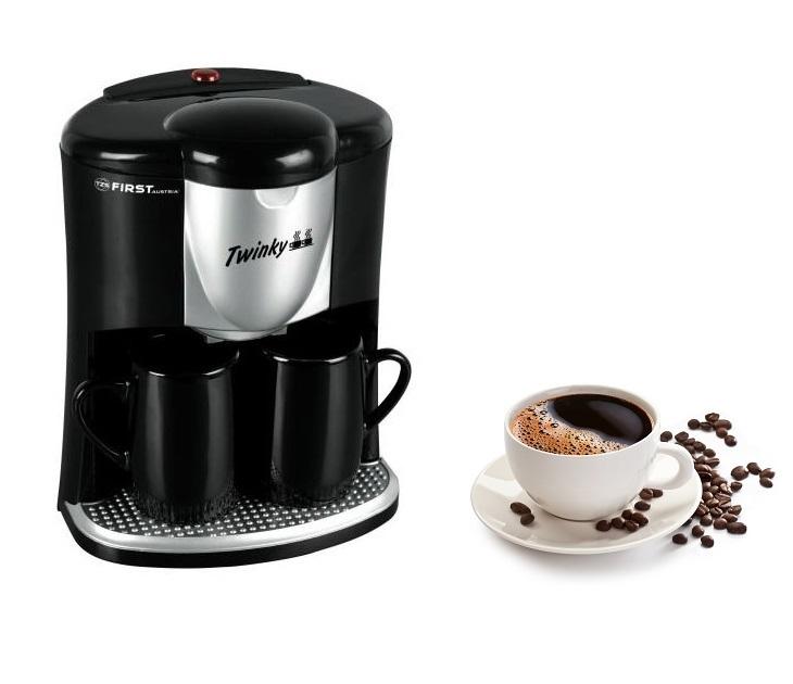 Καφετιέρα Φίλτρου 2 Ποτηριών (450 Watt) First FA-5453-B μηχανές καφέ
