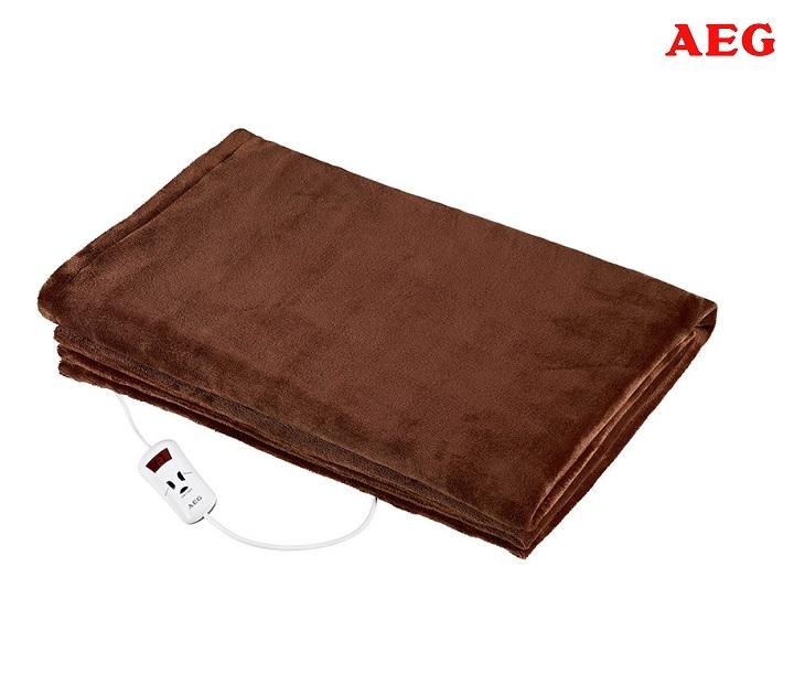 Διπλή Ηλεκτρική Θερμαινόμενη Κουβέρτα (130χ180εκ) AEG WZD 5648 είδη θέρμανσης   ψύξης