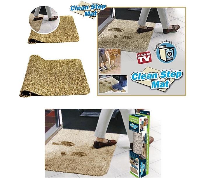 """""""Μαγικό"""" Χαλάκι Εισόδου Clean Step Mat ΟΕΜ είδη σπιτιού"""