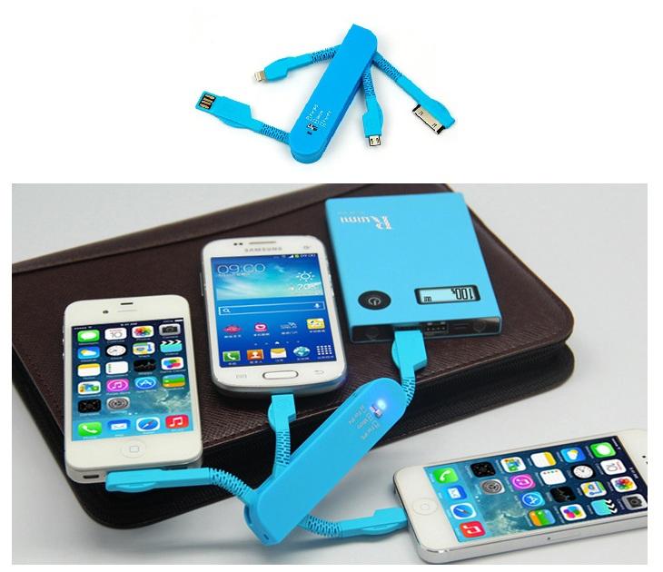 Καλώδιο Φόρτισης 3 σε 1 για Smartphones & Τablets gadgets