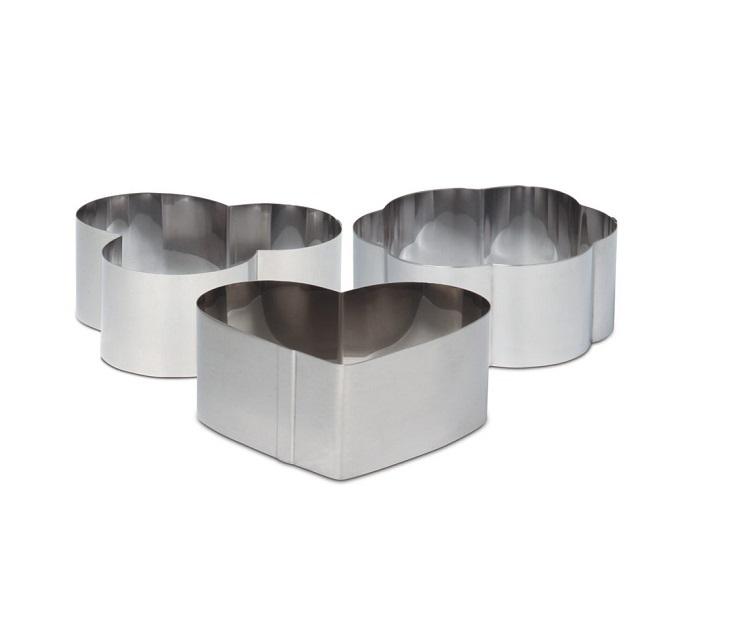 Σετ 3 Δαχτυλίδια Φορμάκια Μίνι Veltihome σκεύη μαγειρικής