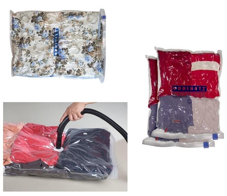 Σετ 2 Θήκες Φύλαξης Ρούχων 50x60εκ. Ordinett σακούλες αποθήκευσης