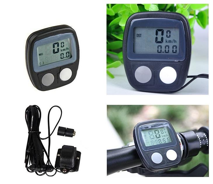Αδιάβροχο Ψηφιακό Ταχύμετρο Ποδηλάτου με 14 Λειτουργίες ΟΕΜ gadgets