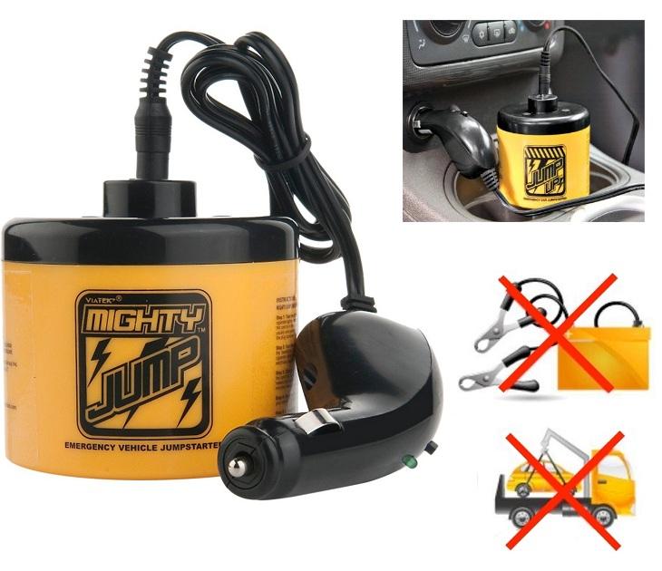 Μίνι Εκκινητής - Ενισχυτής Μπαταρίας Αυτοκινήτου Mighty Jump OEM gadgets