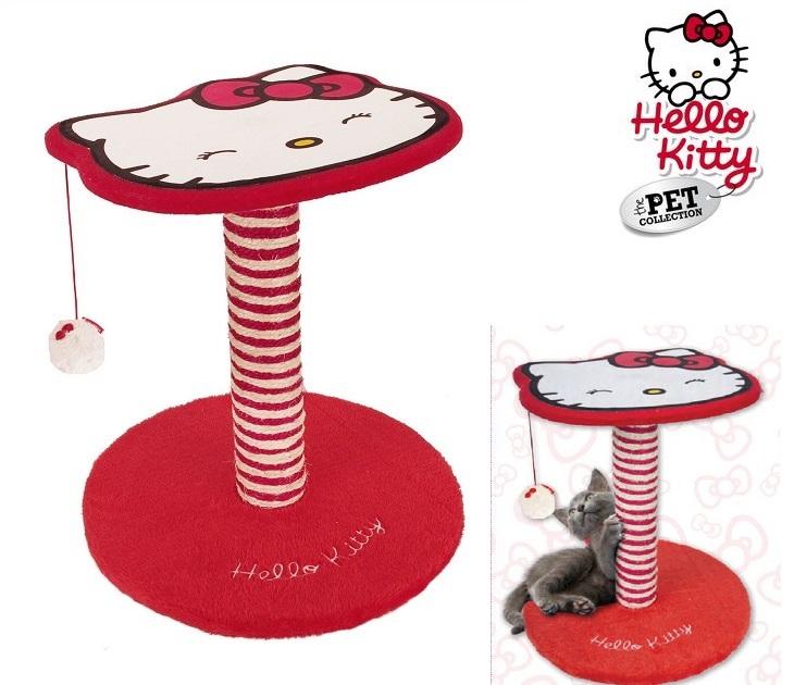 Ονυχοδρόμιο για Γάτες - Κολόνα Δραστηριοτήτων Hello Kitty kατοικίδια