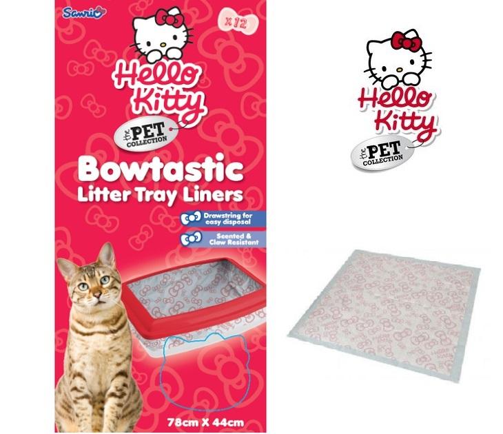 Αρωματικές Σακούλες Τουαλέτας για Γάτες Hello Kitty kατοικίδια