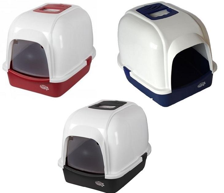 Τουαλέτα Γάτας Με Καπάκι & Φίλτρο Pet Brands λεκάνες   τουαλέτες γάτας