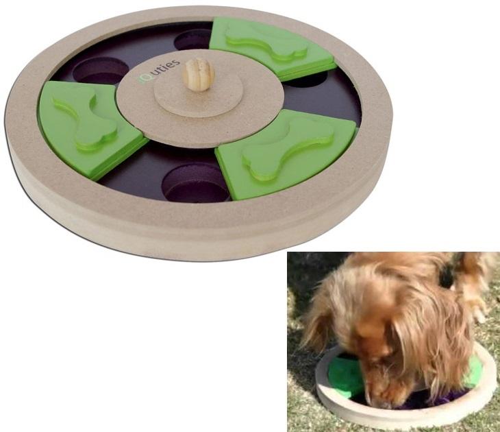 Διαδραστικό Παιχνίδι iQuties Treat Wheel Pet Brands παιχνίδια σκύλου