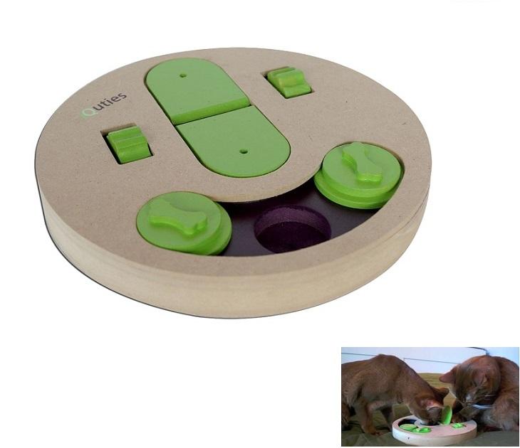 Διαδραστικό Παιχνίδι Σκύλου - Γάτας iQuties Slot & Lever παιχνίδια σκύλου