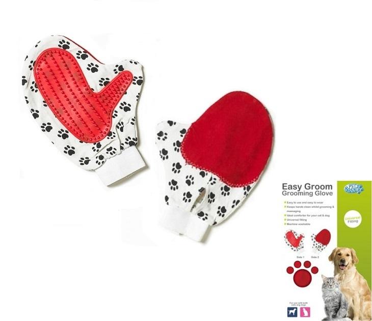 Γάντι Περιποίησης Easy Groom Grooming Glove Pet Brands kατοικίδια