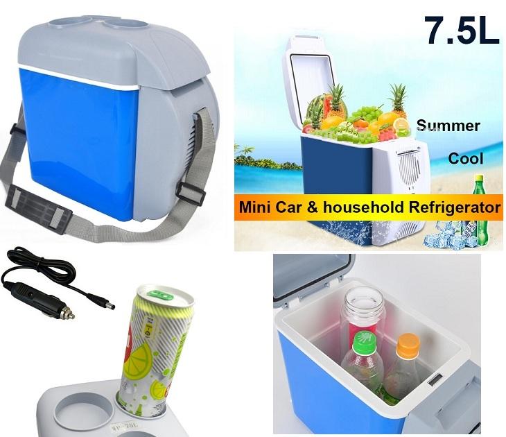 Ηλεκτρικό Φορητό Ψυγειάκι 7,5 λίτρων για το Αυτοκίνητο φορητά ψυγεία
