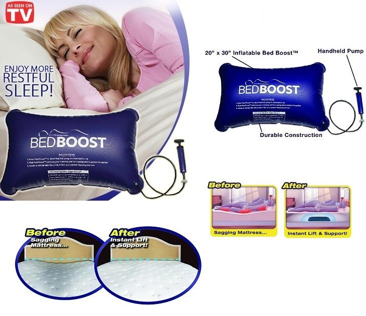Φουσκωτό Πρόσθετο Επιδιόρθωσης Στρώματος Κρεβατιού Bedboost OEM