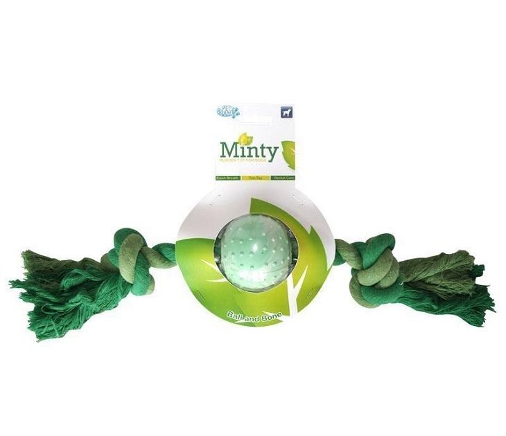 Μπάλα Μέντας Στοματικής Υγιεινής Σκύλου Minty Ball & Bone
