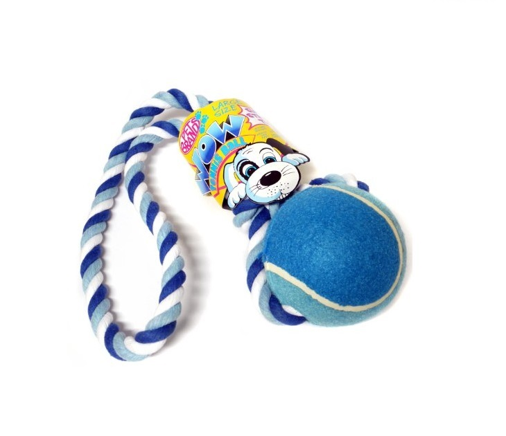 Μπαλάκι Τέννις Σκύλου Tennis Ball Tug Pet Brands παιχνίδια σκύλου