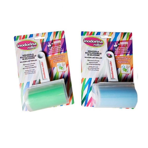 Inodorina Αποχνουδωτής - Roller Καθαρισμού Σιλικόνης kατοικίδια