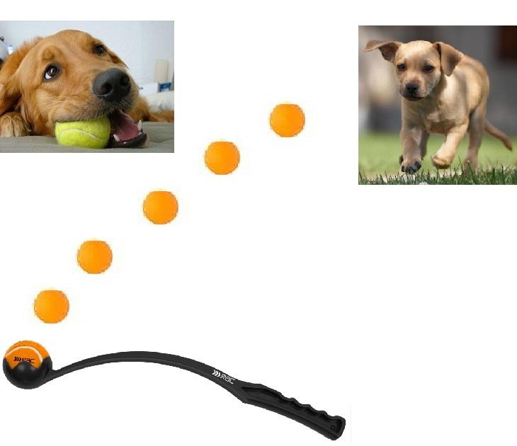 Rac Εκτοξευτής Μπαλάκι Τέννις (RACPB45) παιχνίδια σκύλου