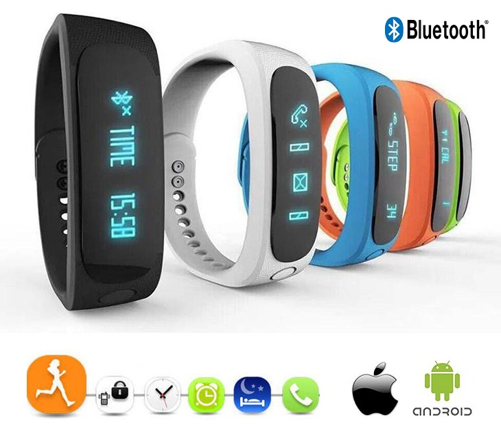 Ρολόι Bluetooth με Λειτουργίες Εύρεσης Smartphone E02 ΟΕΜ gadgets