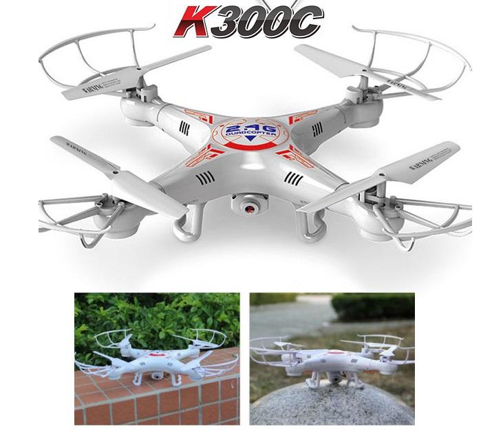 Drone με Κάμερα (2MP) 360° και Προστατευτικά K300C gadgets
