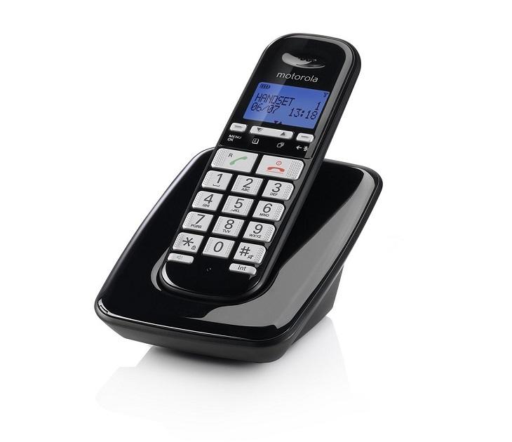 Ασύρματο Τηλέφωνο Συμβατό με Ακουστικό Βαρηκοΐας Motorola S3001 ασύρματα τηλέφωνα