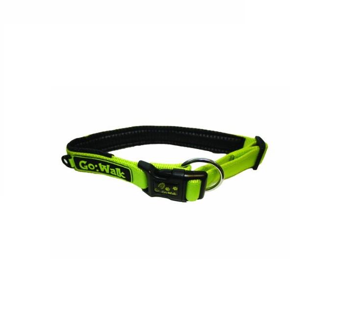 Κολάρο Go Walk Πράσινο Small Happy Pet (1.3cm x 29.5-32.5cm) περιλαίμια   κολάρα σκύλου