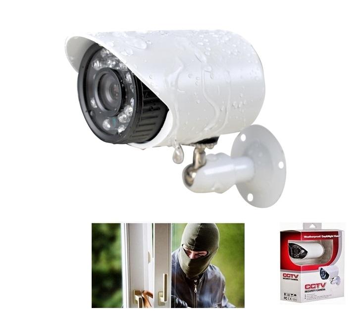Ενσύρματη/Αδιάβροχη Κάμερα Νυχτερινής Λήψης 700 TVL Bullet OEM συστήματα ασφαλείας
