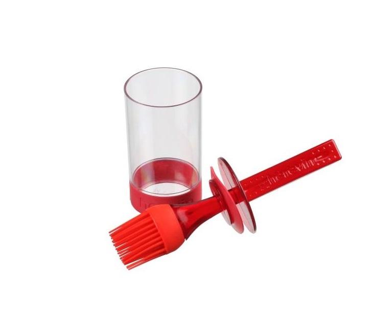 Πινέλο Σιλικόνης Με Πλαστικό Δοχείο Veltihome
