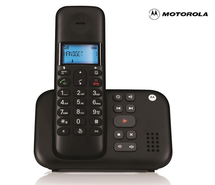 Aσύρματο Τηλέφωνο Motorola T311 Dect με Ενσωματωμένο Τηλεφωνητή τηλεφωνία