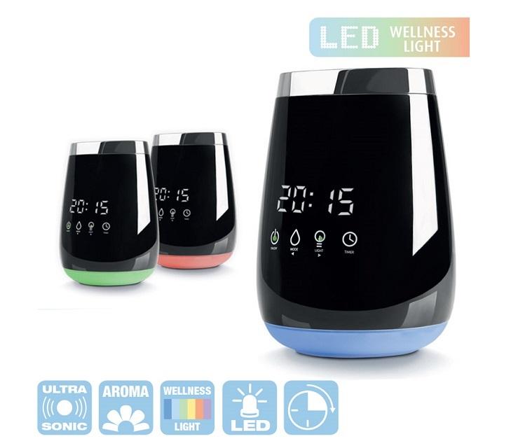 Διαχυτής Αρώματος Μedisana για Αιθέρια Έλαια Οθόνη Αφής AD640 μικρές οικιακές συσκευές