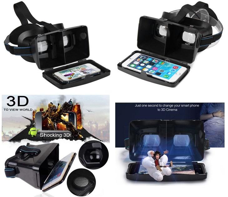 Μάσκα Εικονικής Πραγματικότητας 3D για Smartphones OEM ML60 gadgets